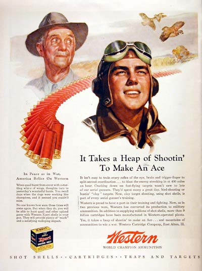 1944 western ammunition advertisement