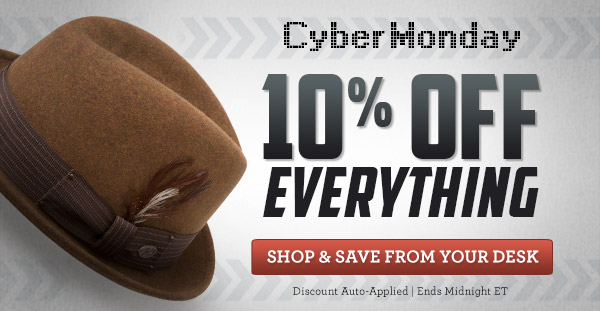 The Fedora Store Cyber Monday